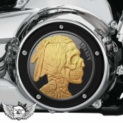 Harley Davidson Derby - Indian Head Coin, Liberty