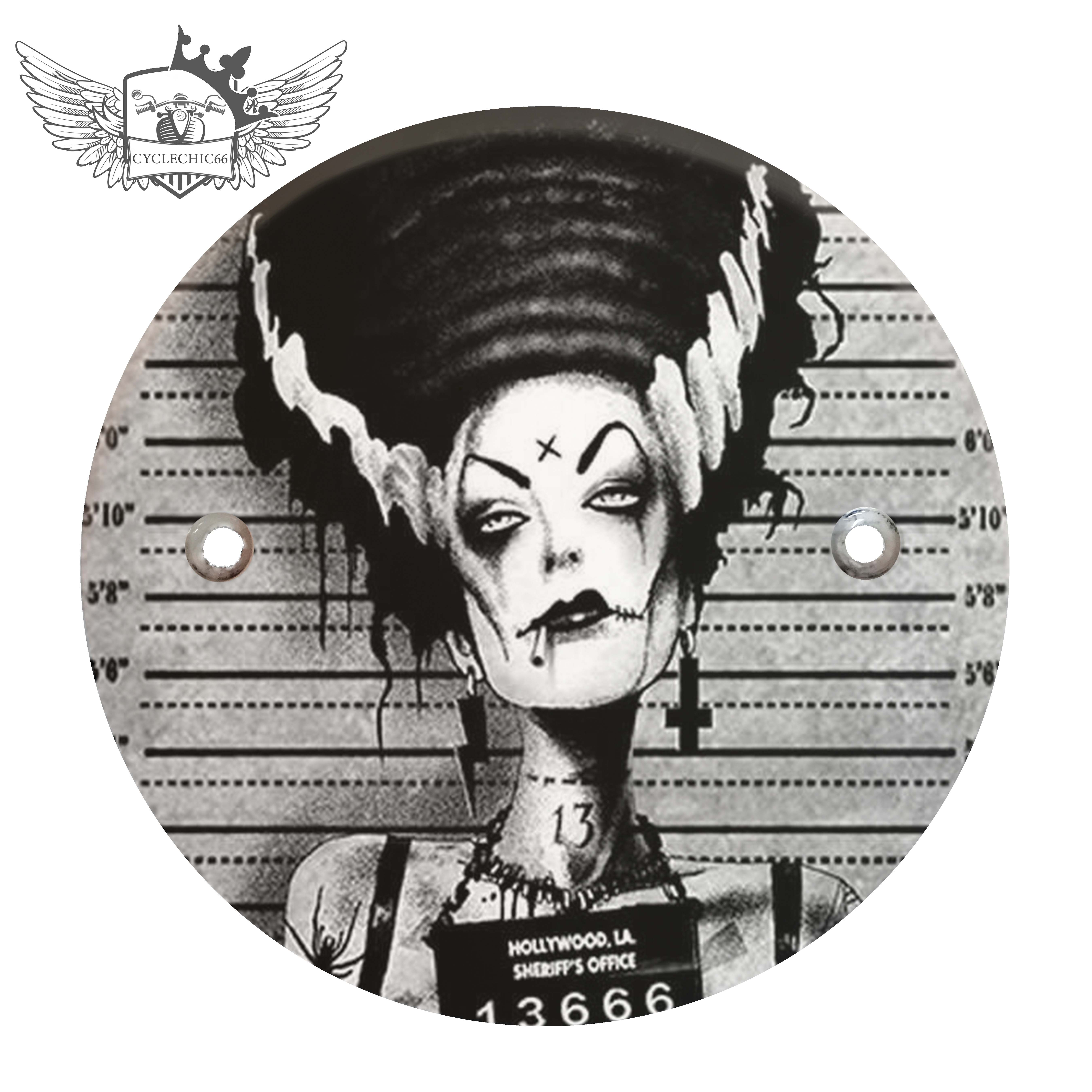 Victory Derby Cover - Bride of Frankenstein