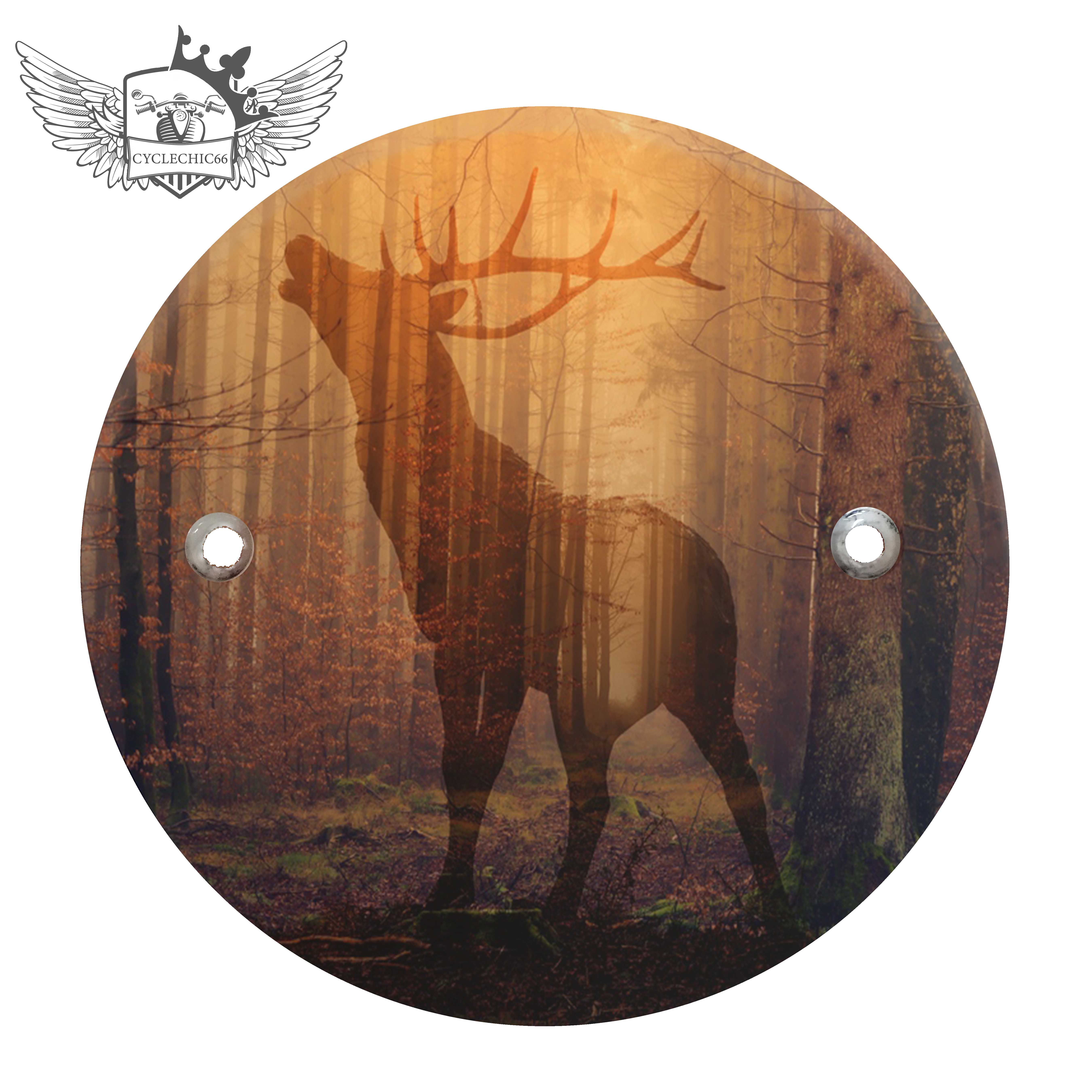Victory Derby Cover - Deer in Forest
