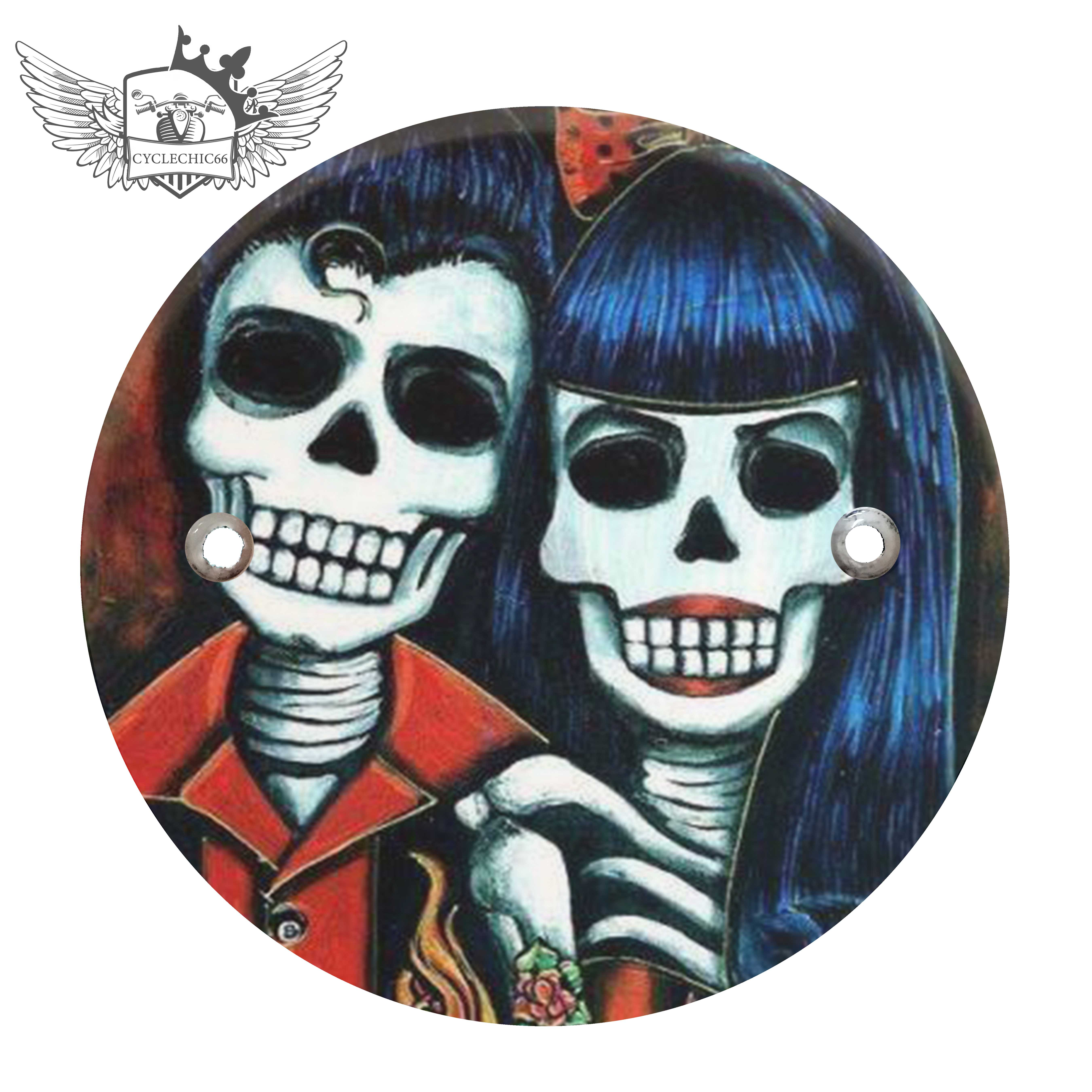 Victory Derby Cover - Day of Dead Couple